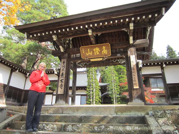 Takayamassa temppelikierroksella