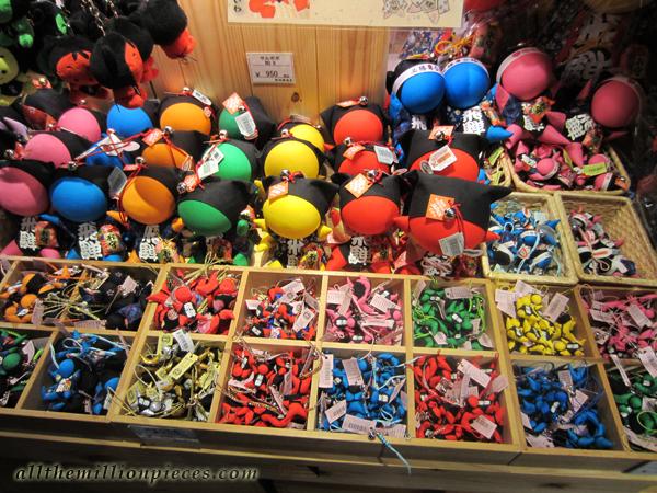 Happy Monkey baby dolls in Takayama