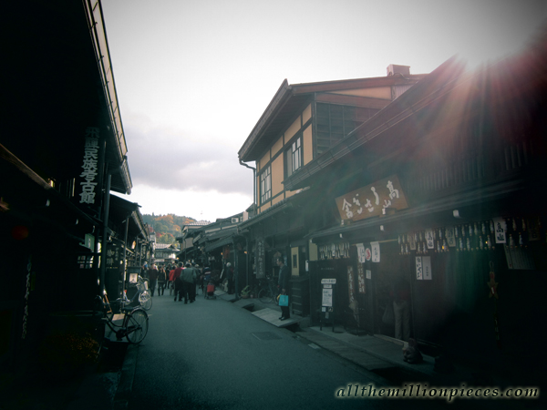 Traditional houses in Takayama