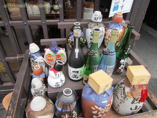 Sake at Takayama
