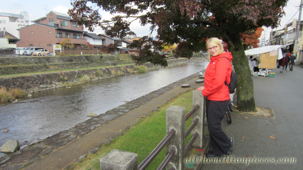 Me by the river in Takayama