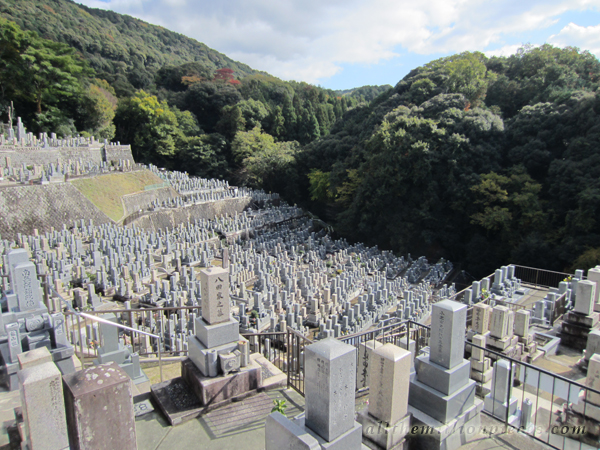 Cemetery in Kyoto