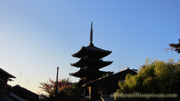Five-story pagoda in Kyoto
