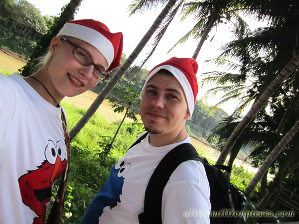 Christmas in Luang Prabang, Laos