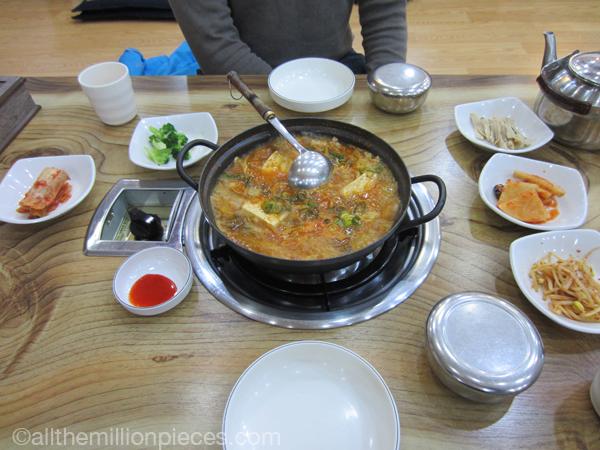 More Korean food.