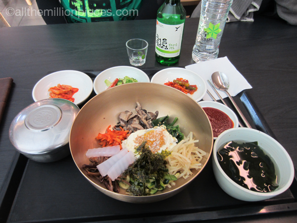 Korean food, bibimbap.