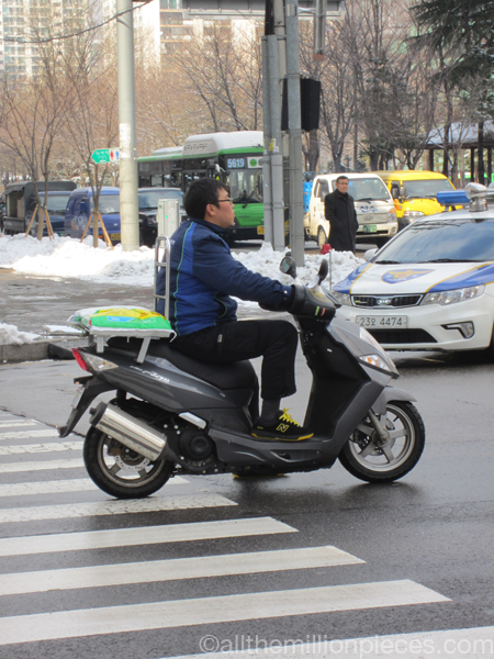 Scooter in Korea