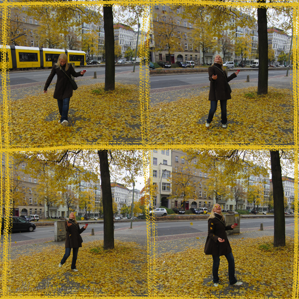 I love the fall! (I was kind of happy as you can see)